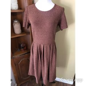 Nwot Lularoe medium elegant rose gold ameila